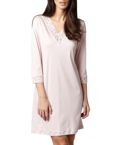 Hanro Moments Bigshirt, Rose