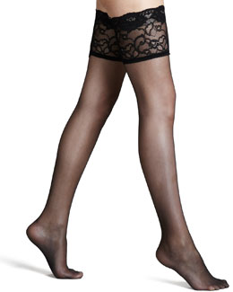 La Perla Allure Stay-Up Stockings