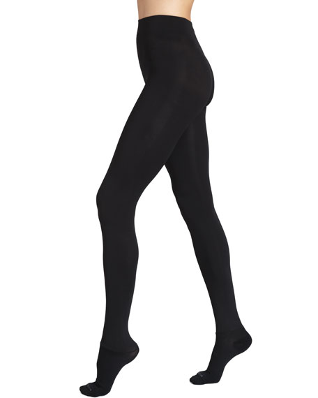 Luxe Semi-Opaque Tights, Black