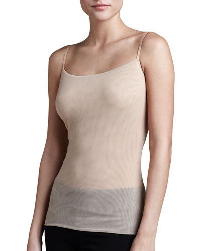 Soire Sheer Camisole, Blush