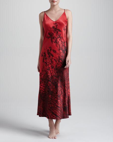 Phoenix Sateen Long Gown