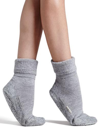 Falke Cozy Plush House Shoes, Gray