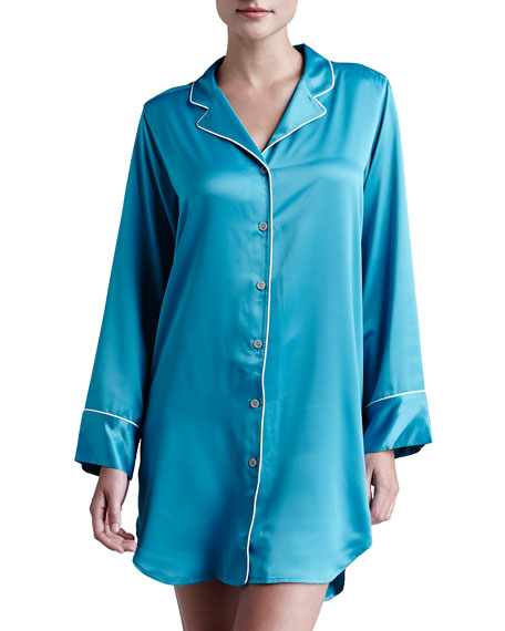 Charmeuse Hi-Lo Sleepshirt