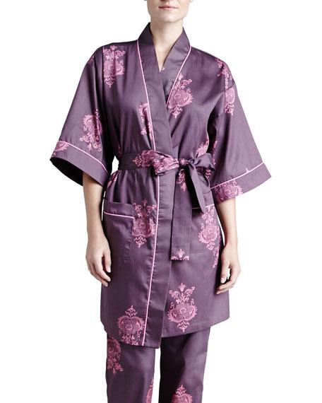 Chandelier Printed Kimono Robe