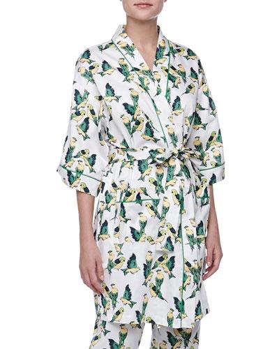 Bedhead Cabana Birds Kimono Robe