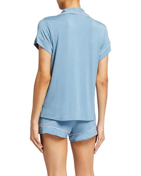 Gisele Boxer-Short Jersey Pajama Set