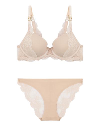 Smooth & Lace Bikini Brief, Night Sky