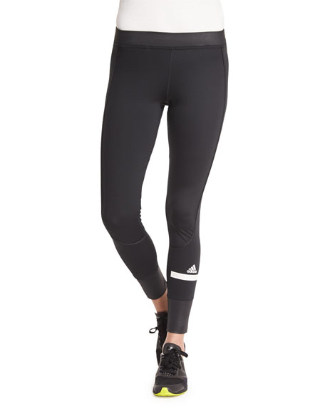 adidas by Stella McCartney The Performance Ankle Leggings, Black