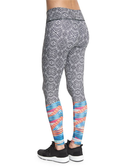 Graphic Long Sport Leggings