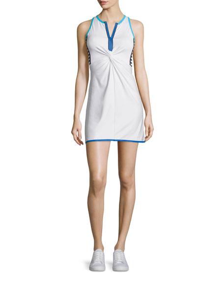 Twist-Front Tennis Dress