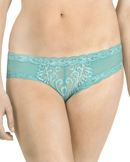 Natori Feathers Hipster Briefs, Midnight