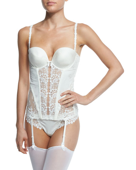 Wish Smooth-Cup Plunge Bustier