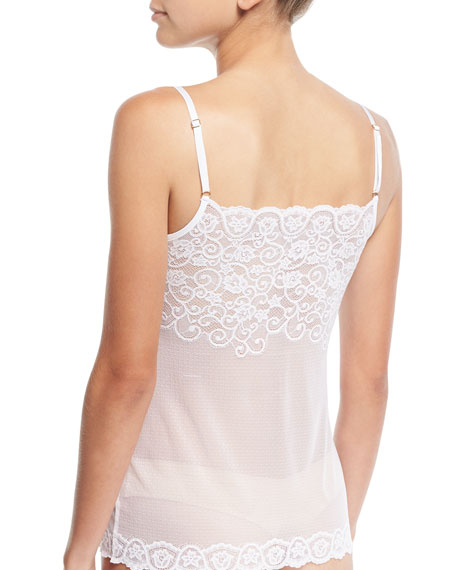 Double Take Allover Lace Camisole
