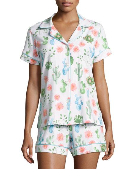 Bedhead Marfa Desert-Print Short Pajama Set, Multi