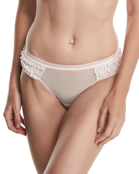 Flagrant Delice Ruffled Thong