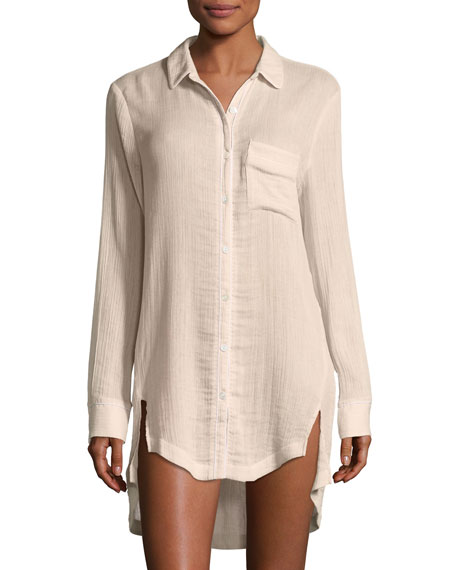 Skin Dinah Cotton Sleepshirt