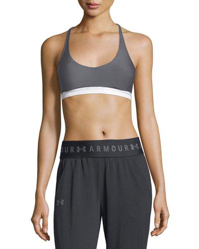 Armour® Eclipse Scoop-Neck Strappy Sports Bra