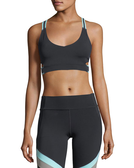 Under Armour Misty Strappy Performance Bralette and Matching