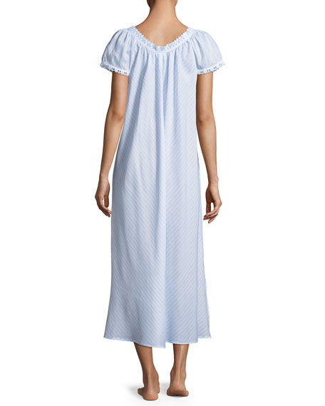 Undine Short-Sleeve Nightgown