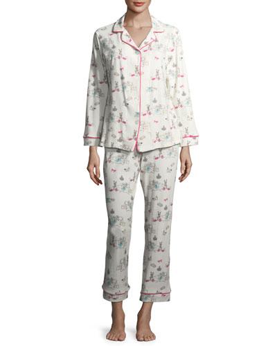 Sleepover Long-Sleeve Pajama Set