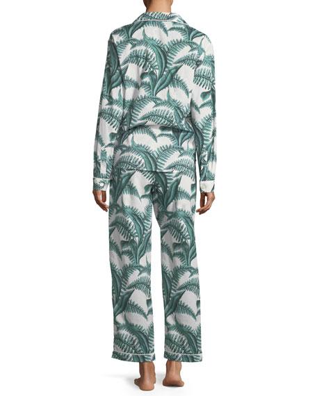 Fern Long-Sleeve Long Pajama Set