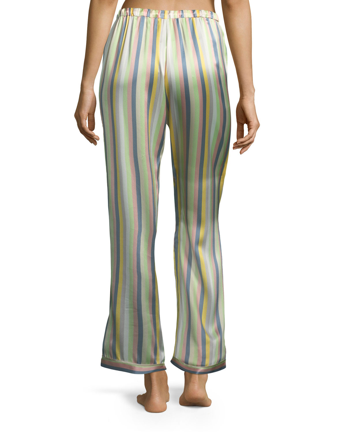 2db32c2d21a768 Morgan Lane Ruthie Sorbet-Striped Pajama Top and Matching Items & Matching  Items   Neiman Marcus