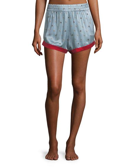 Morgan Lane Chloe Bee Daisies Pajama Shorts and