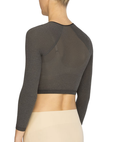 Arm Tights Heathered Shaper Top