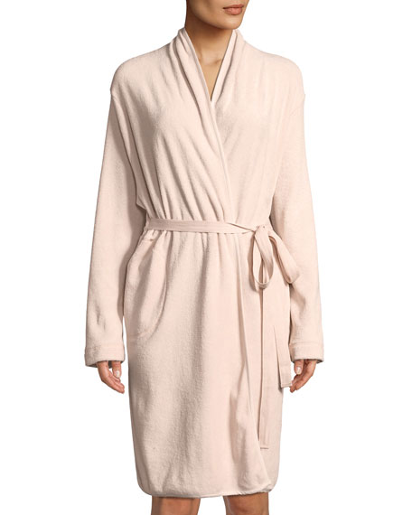 French Terry Short Robe