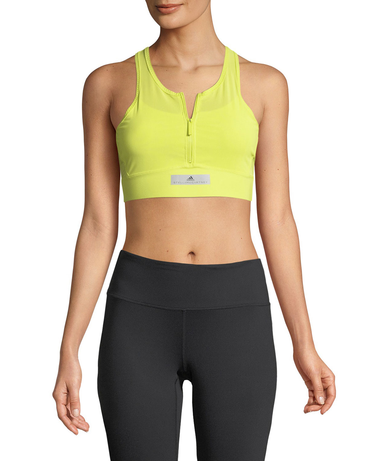 6981fef393f41 adidas by Stella McCartney Run Adizero Performance Crop Top