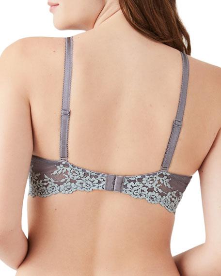 Wacoal Embrace Lace Contour Underwire Plunge Bra