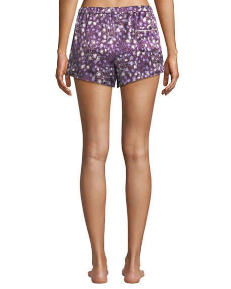 Morgan Lane Dandelion Martine Silk Pajama Shorts