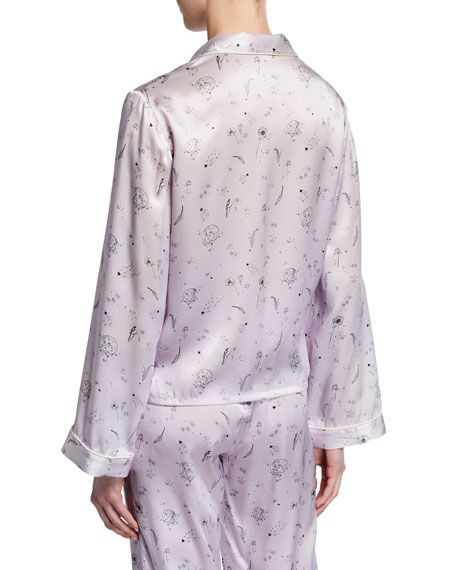 Morgan Lane Ruthie Night Garden Pajama Top