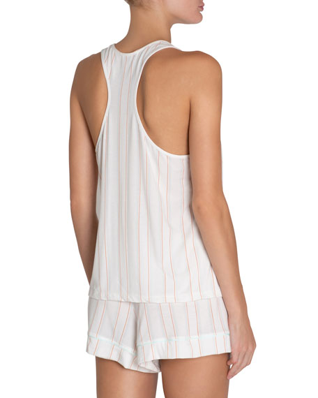 Eberjey Summer Stripes Poplin Lounge Tank