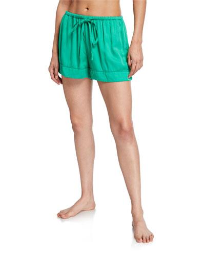 Rana Drawstring-Waist Pajama Shorts
