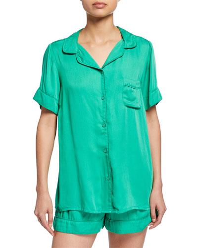 Rana Short-Sleeve Pajama Shirt