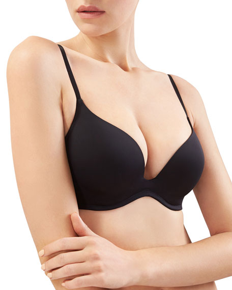 Natori Underneath Push-Up Plunge Bra