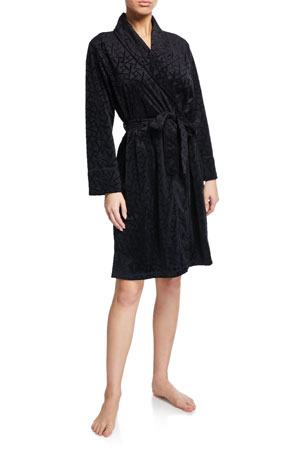 Natori Trance Textured Velour Robe