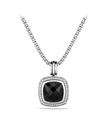 David Yurman Albion Pendant with Black Onyx and