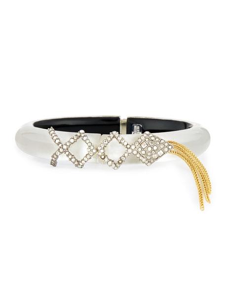 Crystal Lattice Fringe Bracelet