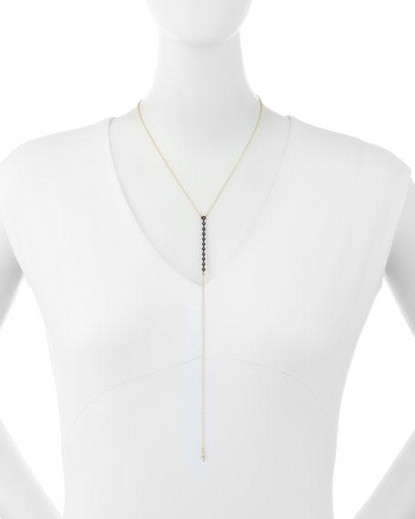 Armenta Old World Champagne Diamond Lariat Necklace