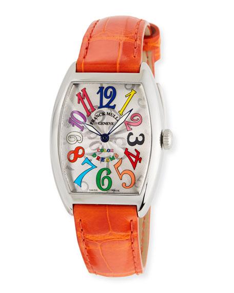 Franck Muller Ladies Color Dreams Curvex Watch with