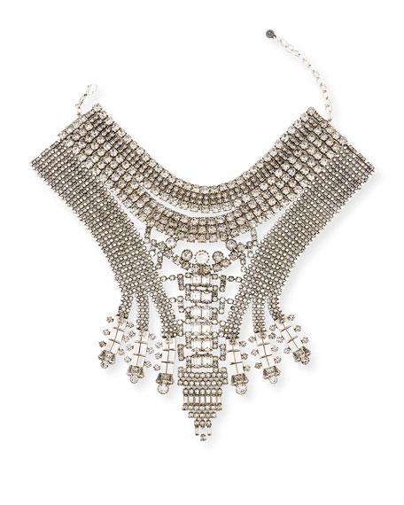 Falkor V Crystal Statement Choker Necklace