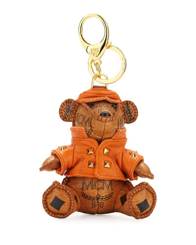 Visetos 3D Bear Charm, Cognac