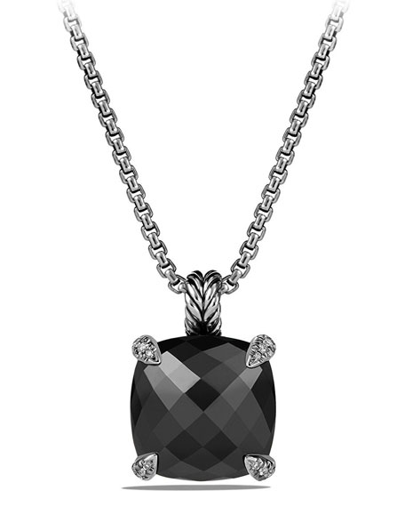 David Yurman 14mm Châtelaine Pendant Necklace