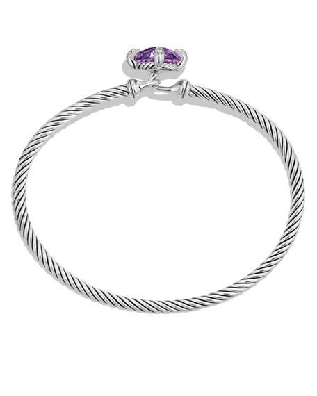 9mm Châtelaine Bracelet with Amethyst