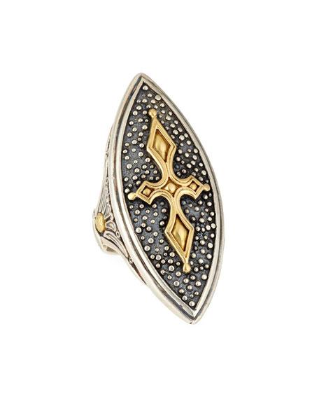 Konstantino 18K Marquise Cross Ring