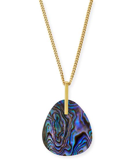 Etoile Isabel Marant Plated Shell-Pendant Necklace