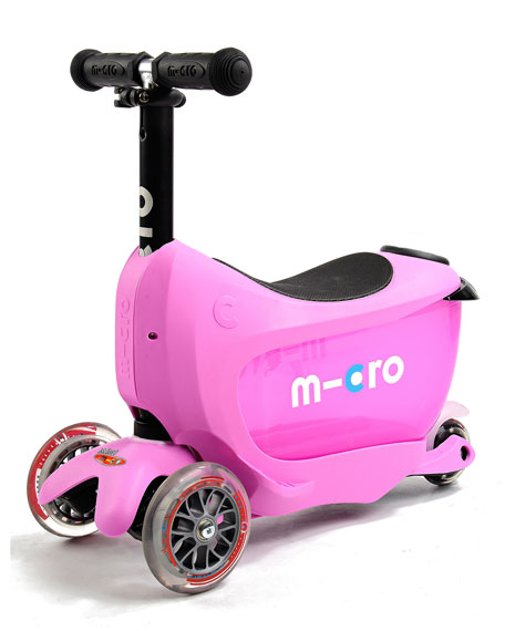 Mini2Go 3-in-1 Scooter, Pink