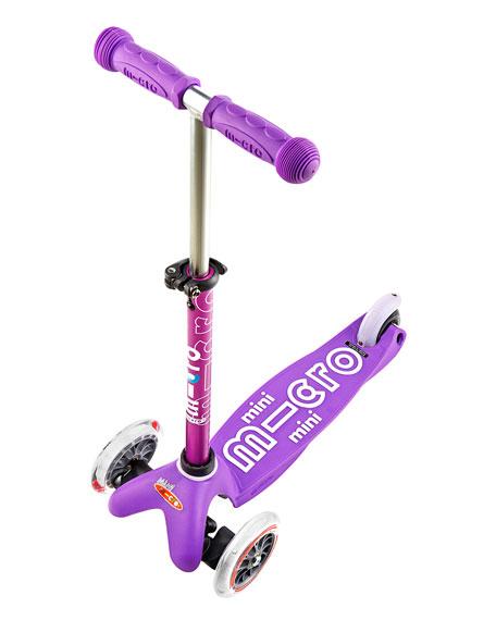 Micro Kickboard Micro Mini Deluxe Kick Scooter, Purple, Ages 2-5